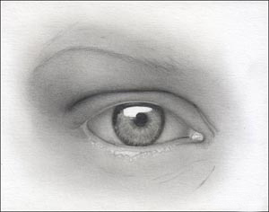 drawing realistic eyes
